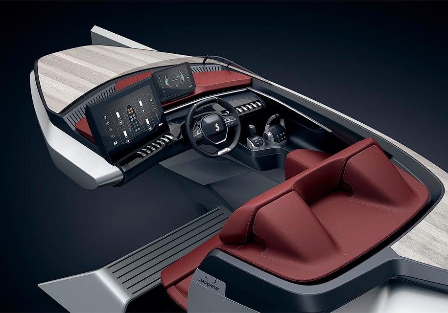 Peugeot применит интерьер своих автомобилей для лодок 2