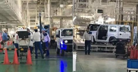 С завода Suzuki «утекли» фото нового внедорожника Jimny 1