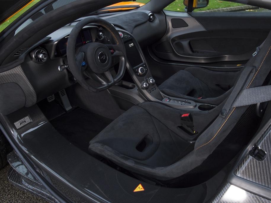 Один из пяти прототипов супергибрида McLaren P1 выставили на торги 4