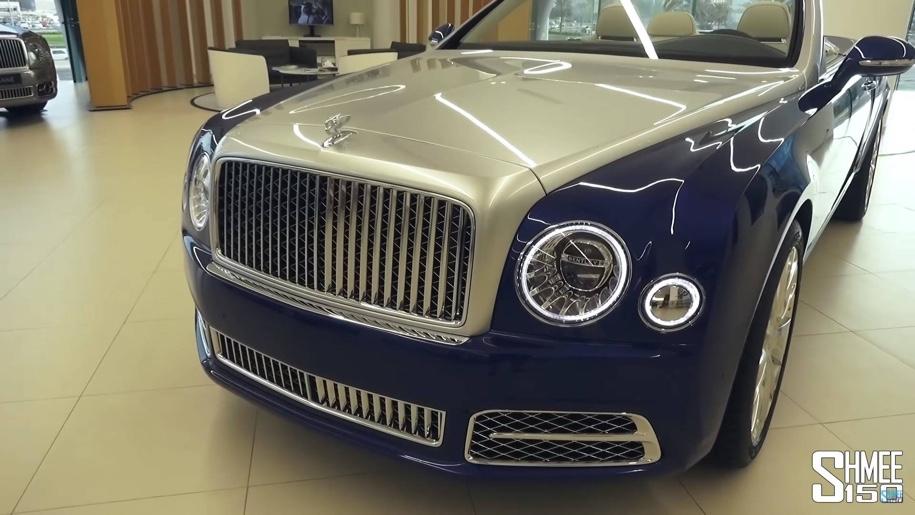 Найден единственный в мире кабриолет Bentley Mulsanne 1