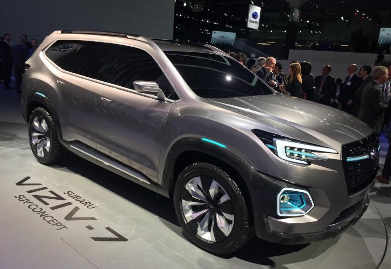 Компания Subaru показала новый кроссовер Ascent 1