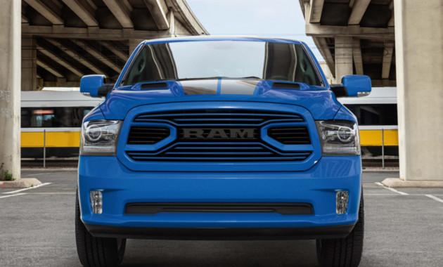 Компания RAM выпустила «голубой» пикап 1