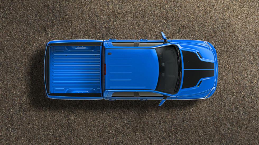 Компания RAM выпустила «голубой» пикап 4