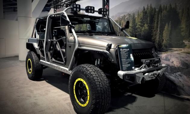 Jeep Wrangler превратили в «бумбокс» 1