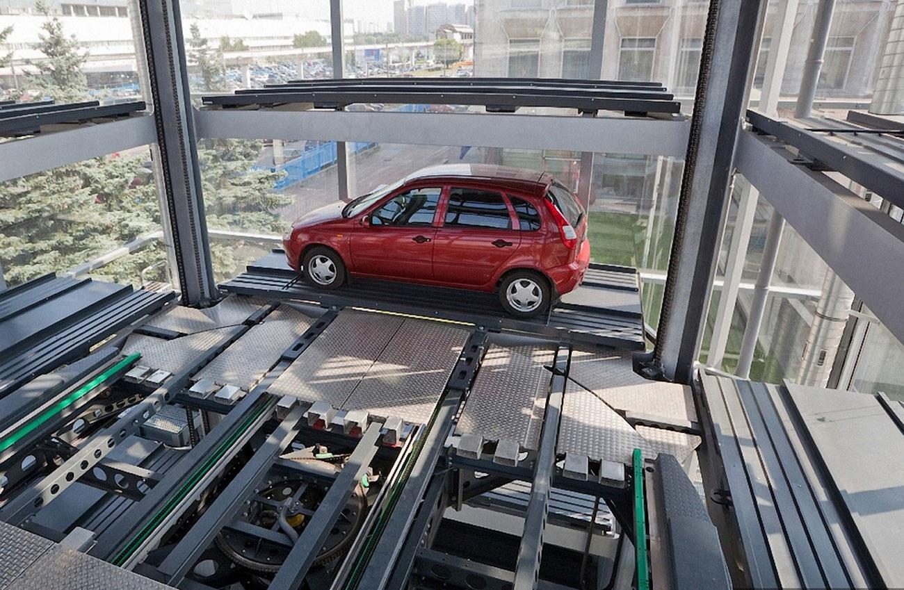 Как устроены автоматизированные парковки 2