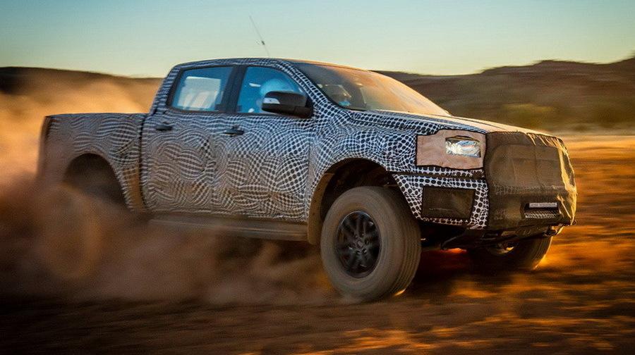 Ford выпустит автомобиль для плохих дорог 1