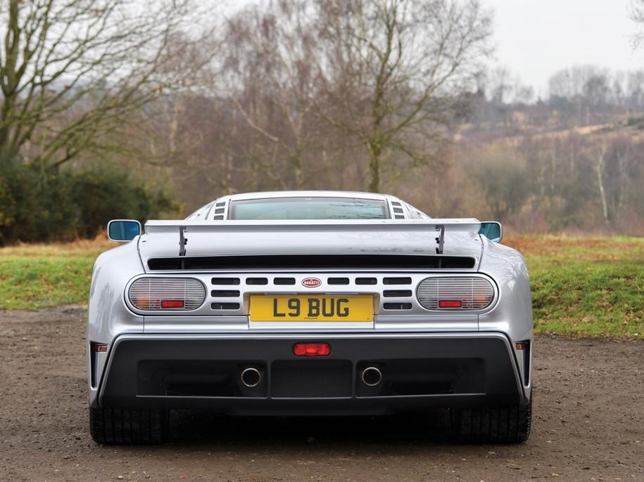 Самый редкий Bugatti выставят на торги 4