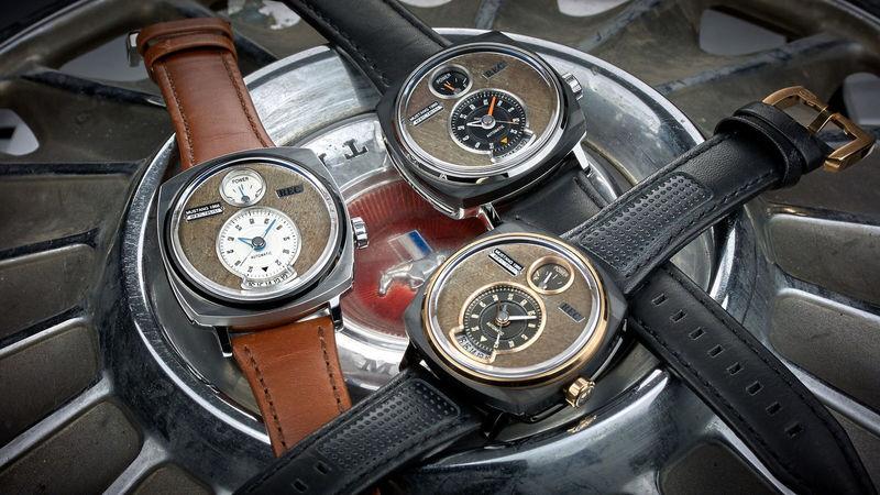 Из утилизированных автомобилей делают эксклюзивные часы 1