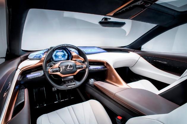 Lexus представил прототип флагманского люксового кроссовера 3