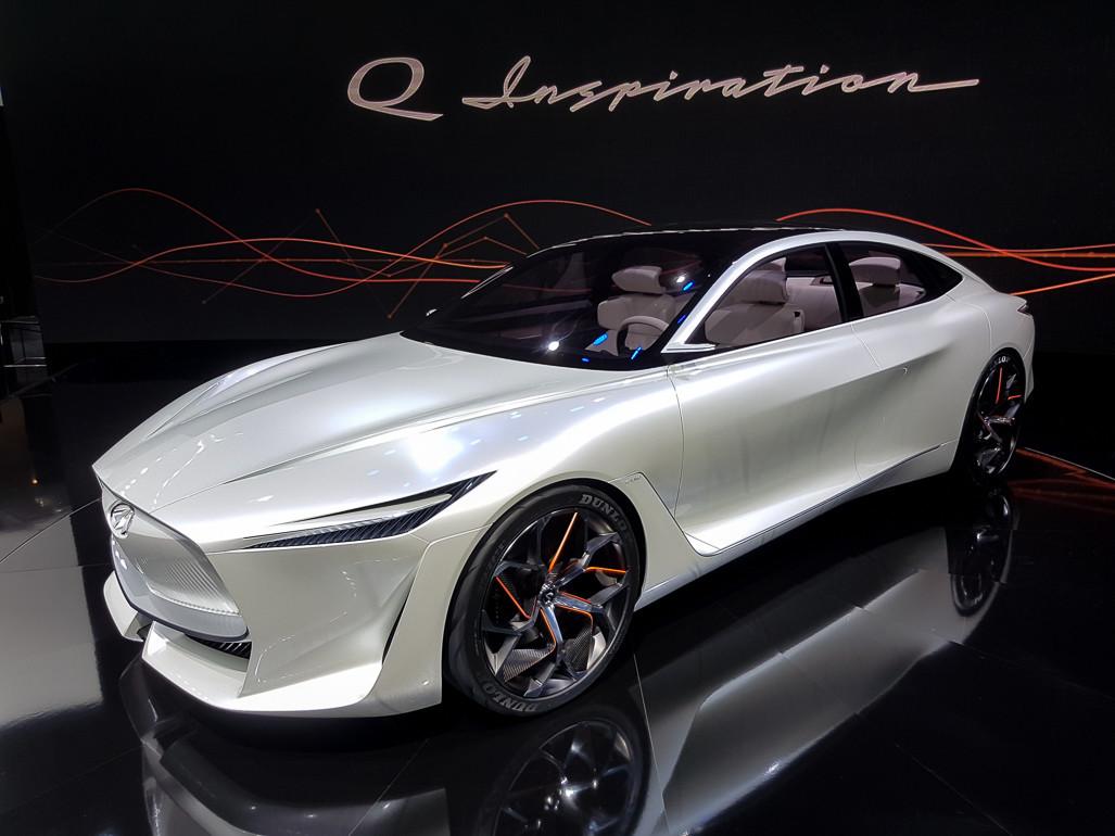 Марка Infiniti объявила электрификацию модельного ряда 1