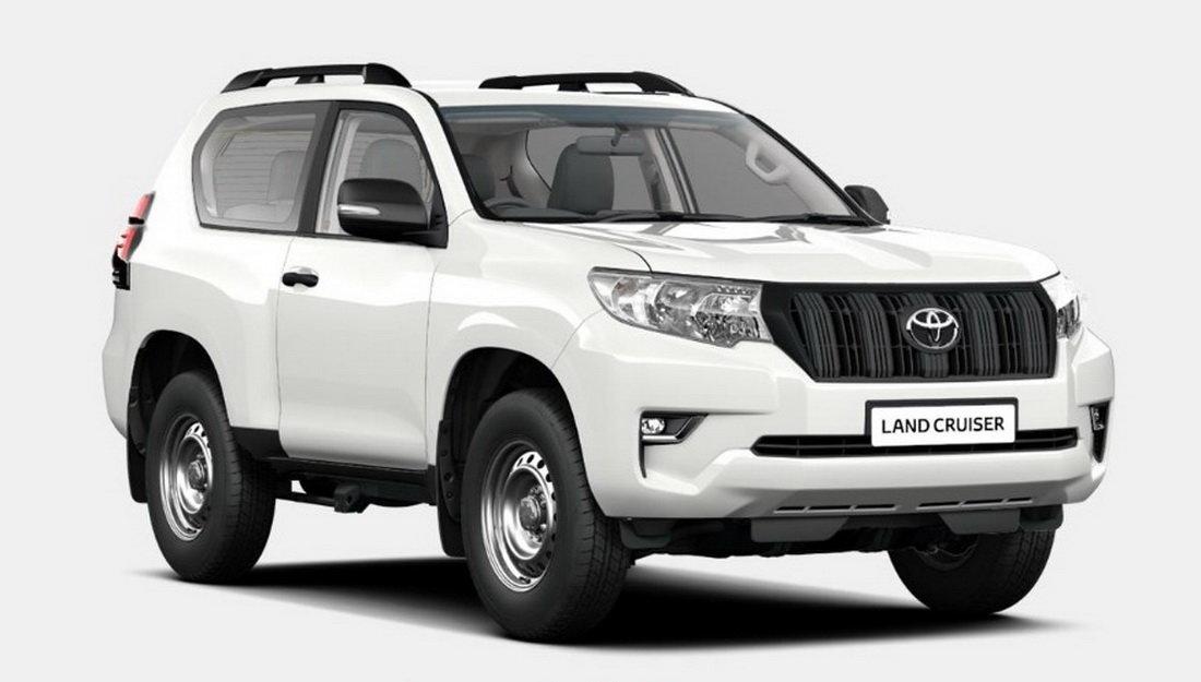 Toyota выпустила «народный» Land Cruiser Prado 1