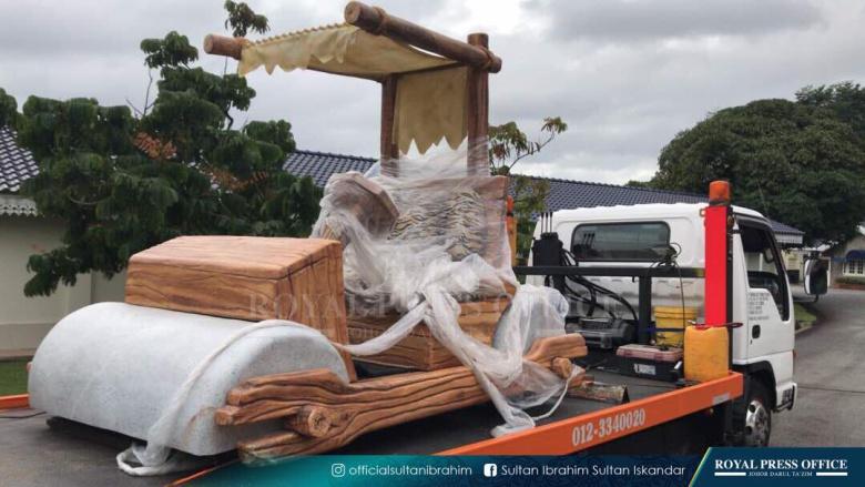 Малазийский султан приобрел автомобиль из «каменного века» 1