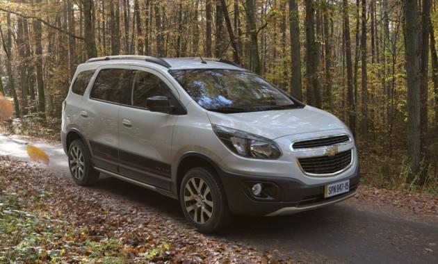 Компания Chevrolet обновила компактвэн Spin 2