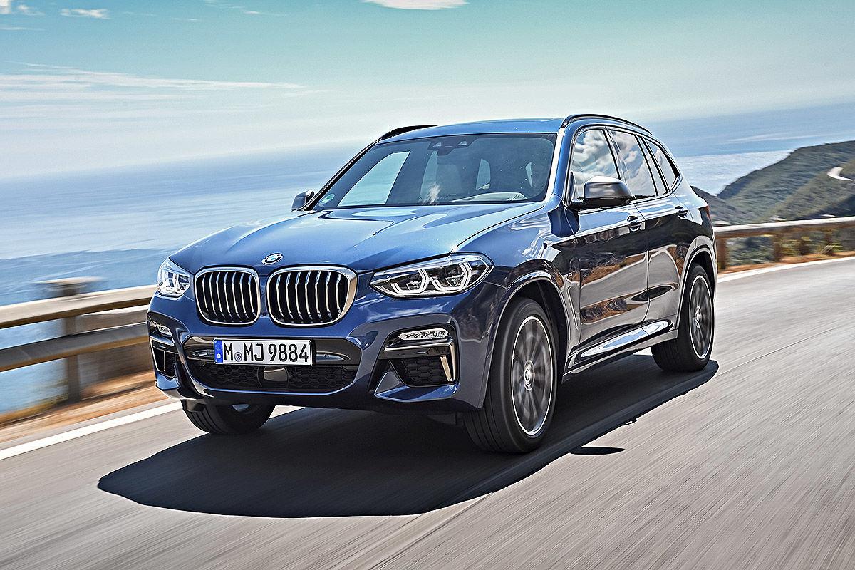 «Больше и маневреннее»: тест-драйв нового BMW X3 1
