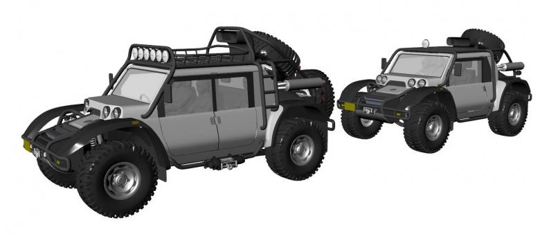 Связка из двух автомобилей планирует покорить высоту в 7000 метров 2
