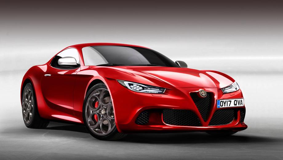 Компания Alfa Romeo выпустит новое спорткупе 1
