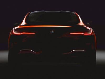 Компания BMW опубликовала тизер нового флагманского купе 1