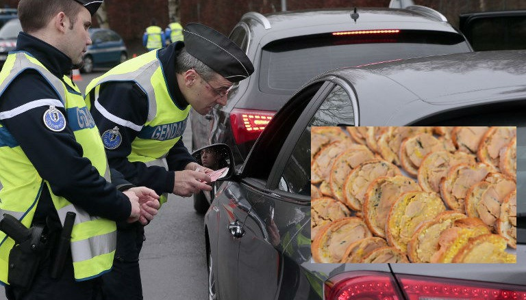 Водитель съел фуа-гра и получил за это штраф 1