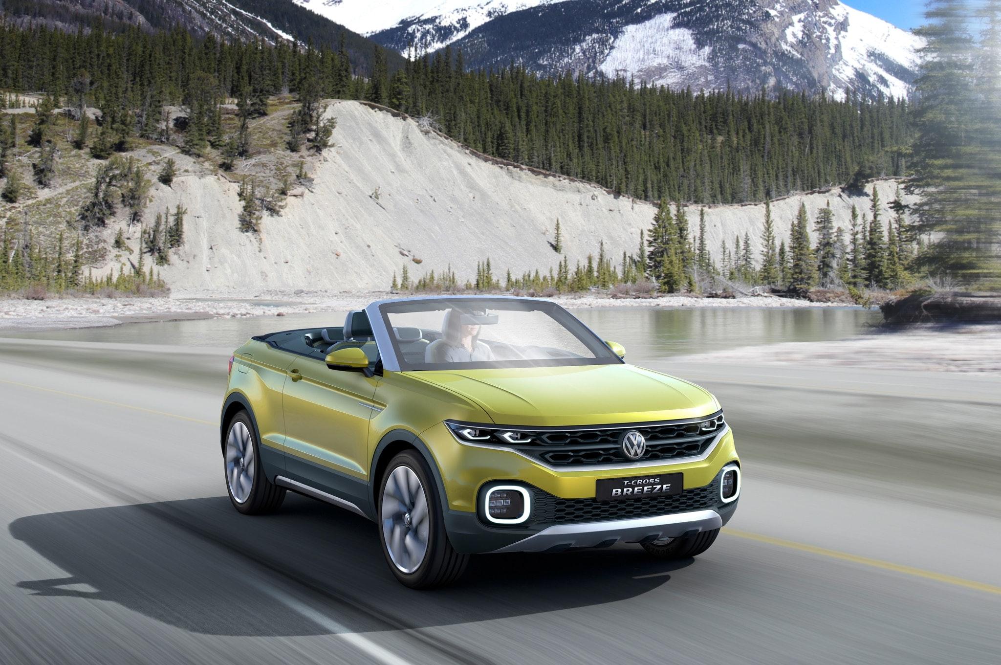 Volkswagen анонсировал премьеру кроссовера T-Cross 1