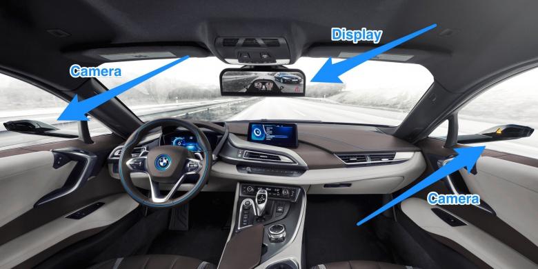 Автопроизводители «отказываются» от зеркал заднего вида 3