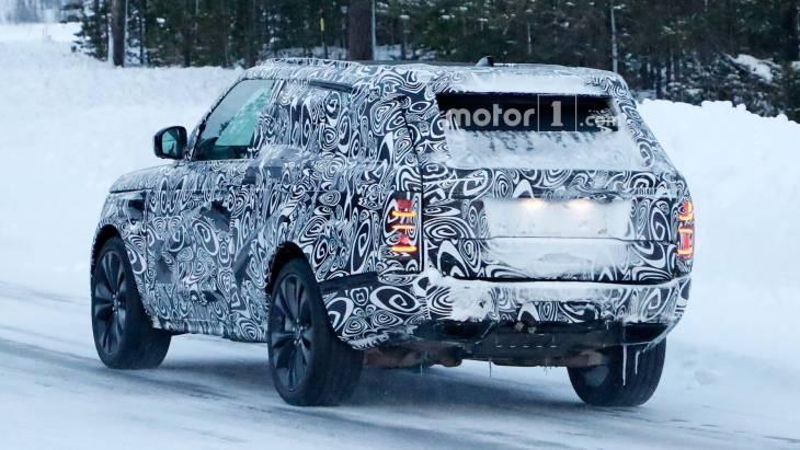 Купеобразный Range Rover показался на тестах 2