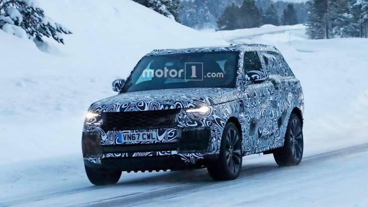 Купеобразный Range Rover показался на тестах 1