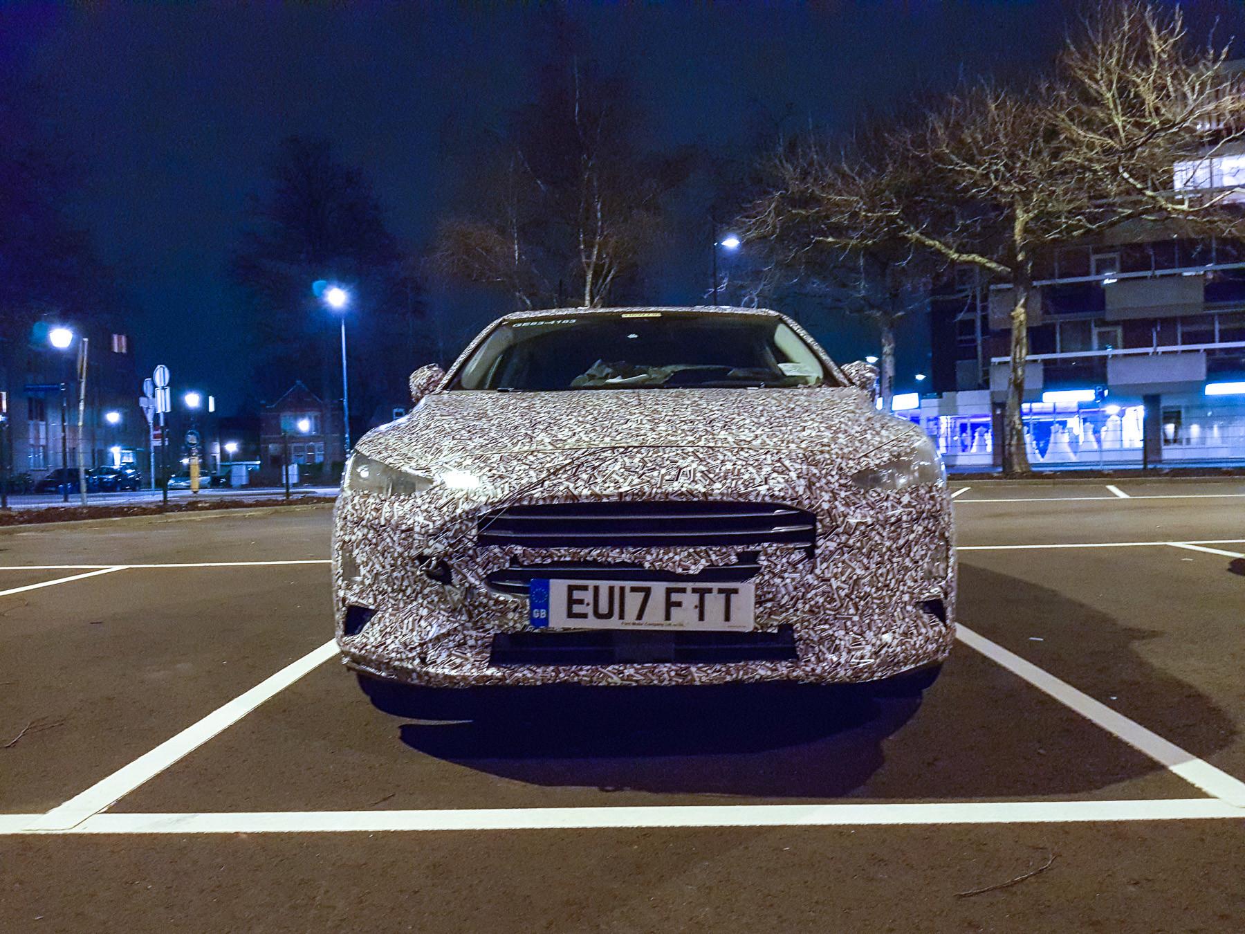 Опубликованы шипонские фотоснимки нового универсала Ford Focus 2