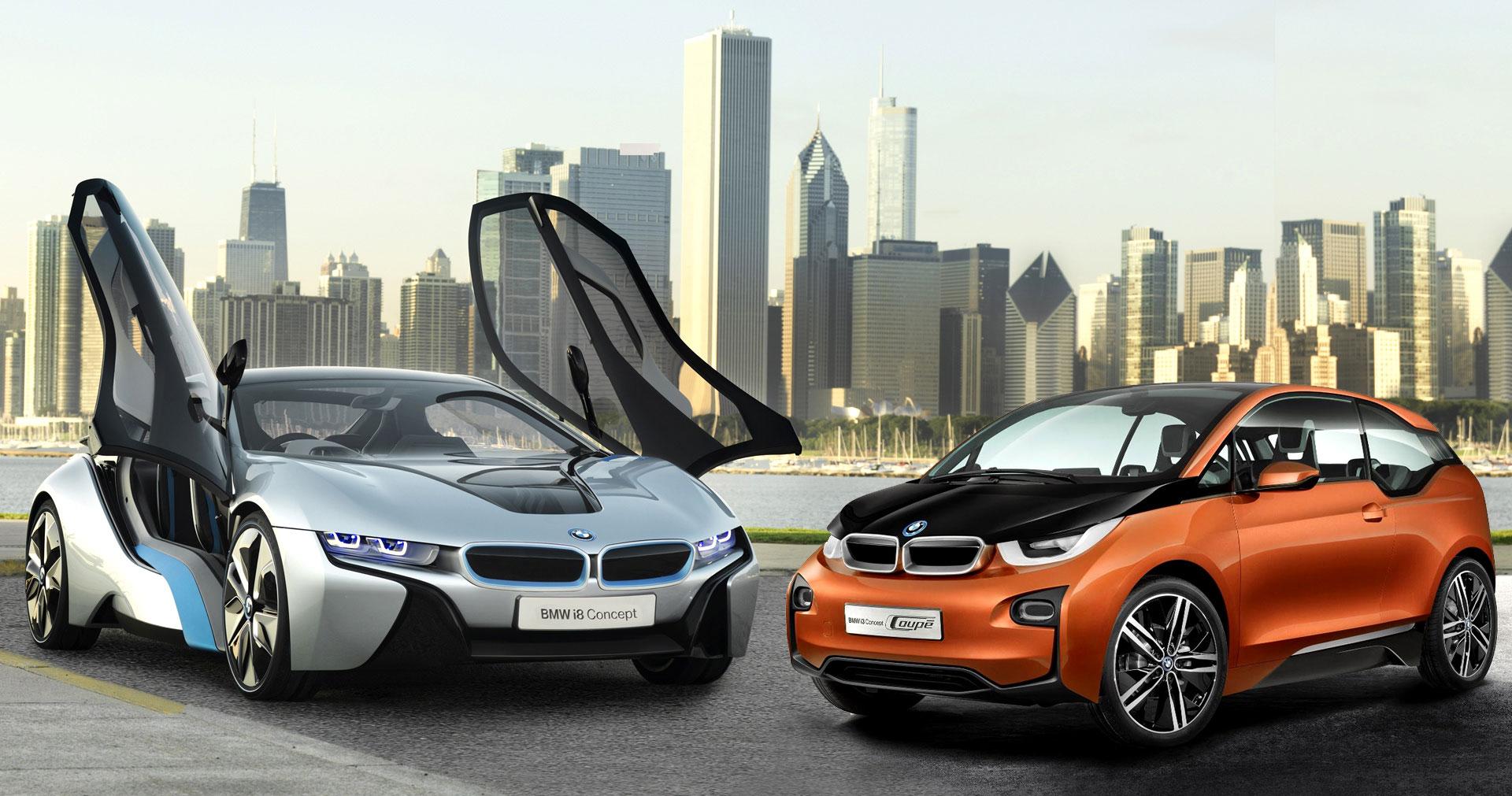 BMW прекратит выпускать модели i3 и i8 1