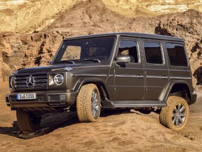 Mercedes-Benz презентовал абсолютно новый «Гелендваген» 2