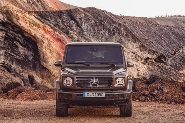 Mercedes-Benz презентовал абсолютно новый «Гелендваген» 1