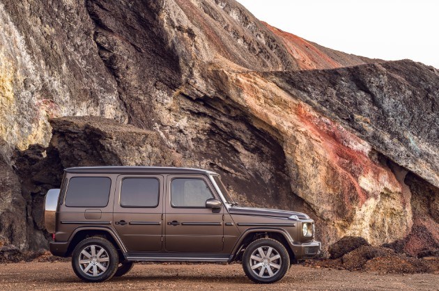 Mercedes-Benz презентовал абсолютно новый «Гелендваген» 3