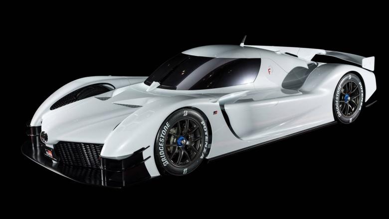 Toyota представила 1000-сильный концепт 2