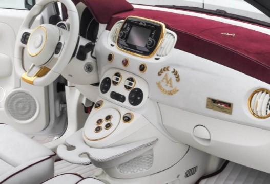 «Малыш» Fiat 500 обзавелся 248-сильным мотором 2