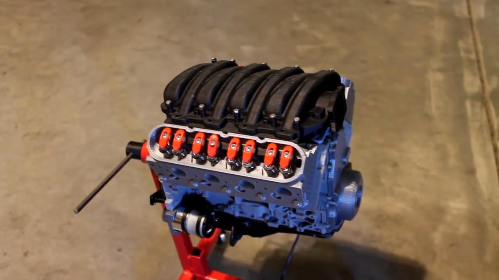 Ученые успешно испытали мотор, напечатанный на 3D-принтере 1