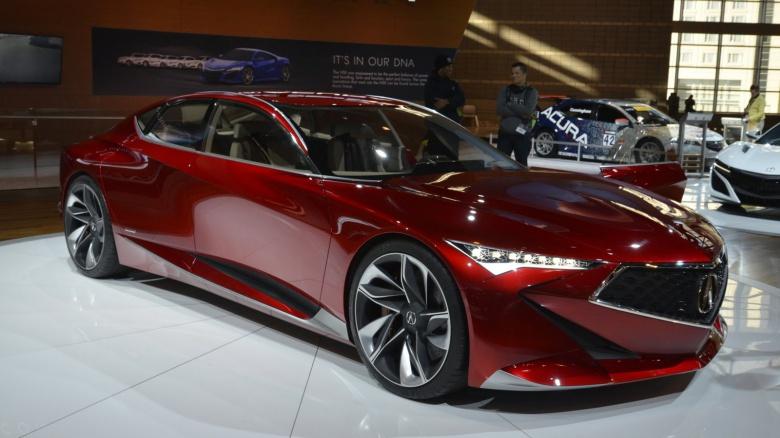 Новая Acura RDX дебютирует в Детройте 2