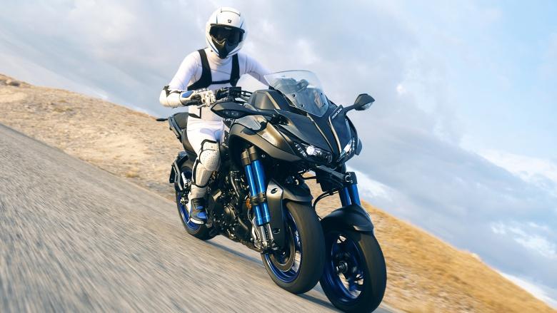 Компания Yamaha представила сверхустойчивый мотоцикл 1