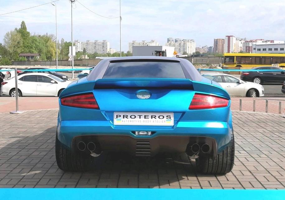Украинцы построили «мифический» спорткар 2