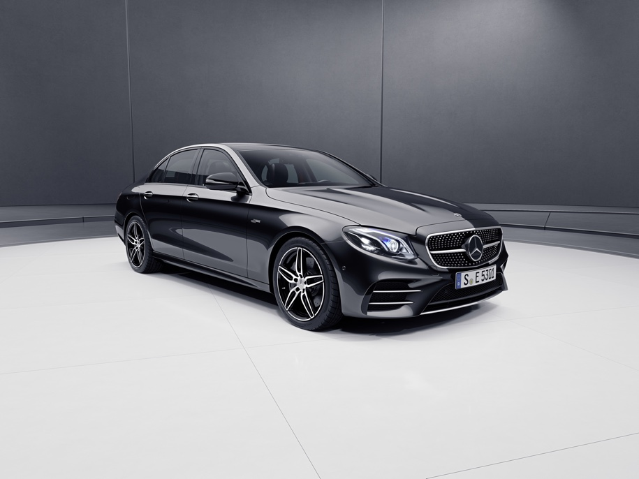 Mercedes-Benz E-Class стал «заряженным» гибридом 1