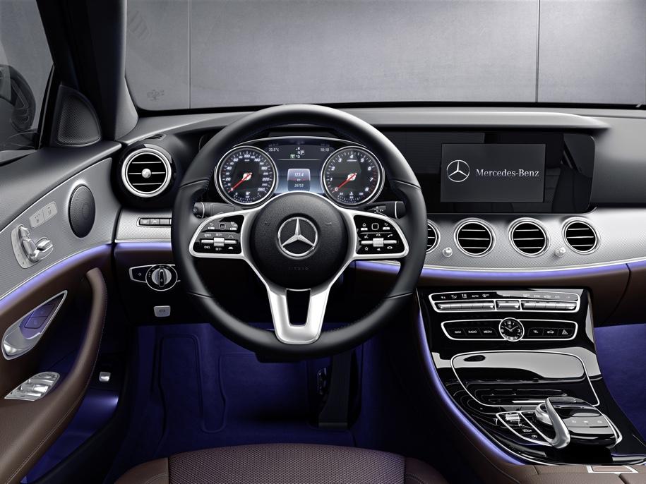 Mercedes-Benz E-Class стал «заряженным» гибридом 2