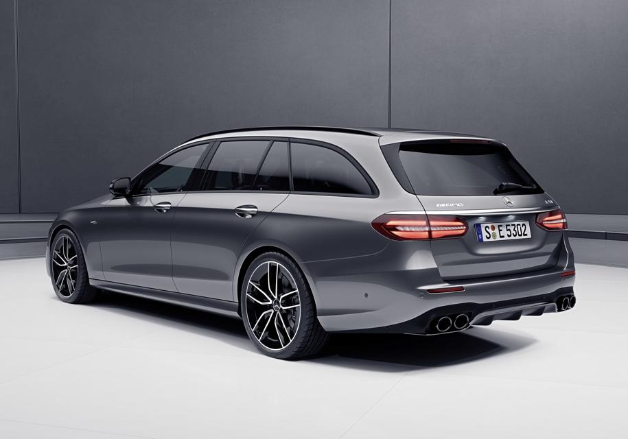 Mercedes-Benz E-Class стал «заряженным» гибридом 3