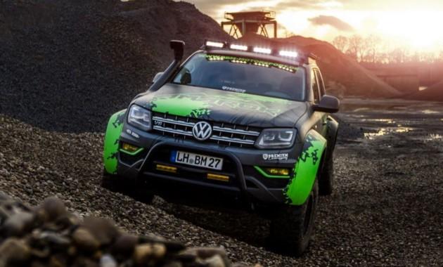 Volkswagen Amarok подготовили для экстремального бездорожья 1