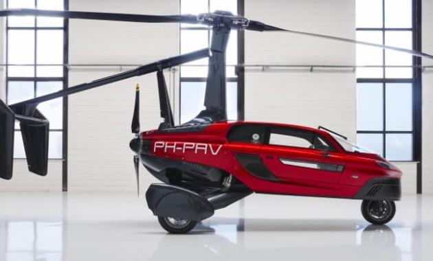 В Женеве презентовали летающее авто 1