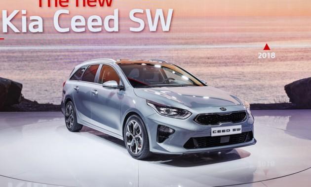 Новый универсал Kia Ceed дебютировал официально 1