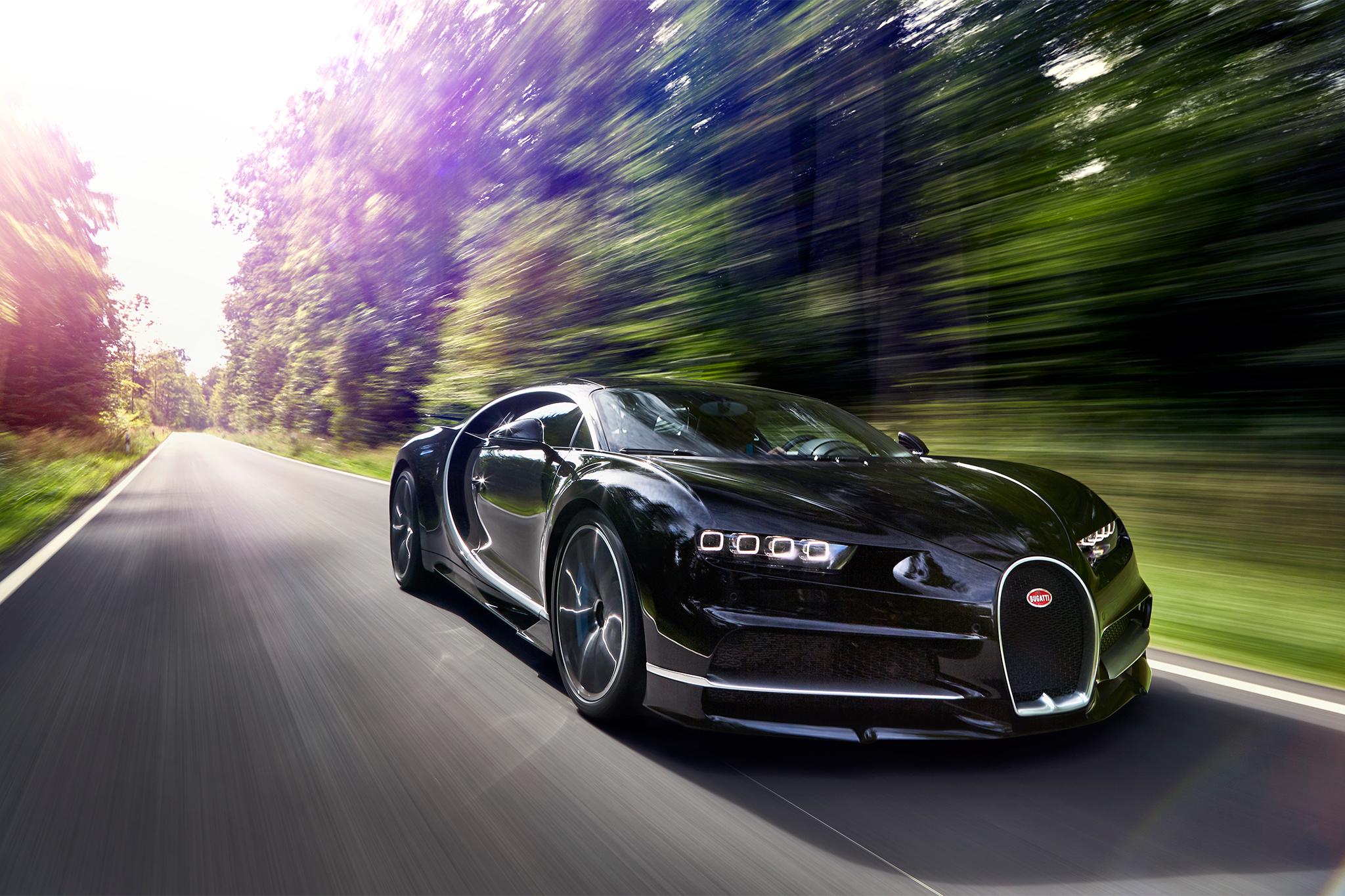 Первый Bugatti Chiron выставили на продажу уже через четыре месяца после покупки 1