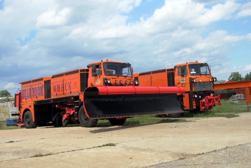 «Белорусская метла» — очень необычный грузовик из Минска 1