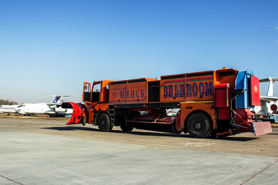 «Белорусская метла» — очень необычный грузовик из Минска 2