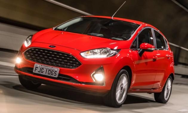 Ford Fiesta прошлого поколения пережил рестайлинг 1