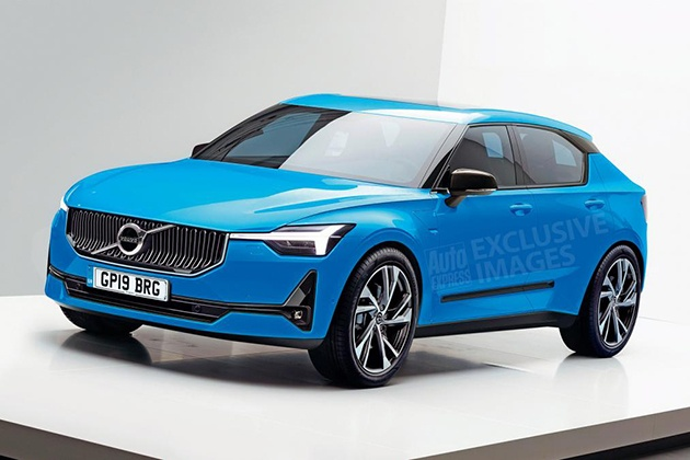 Volvo представит электрический хетчбэк 1