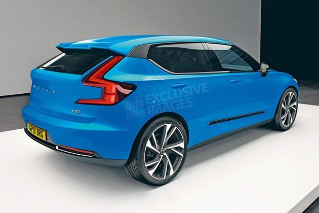 Volvo представит электрический хетчбэк 2