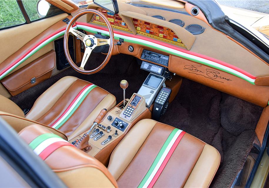 39-летнюю Ferrari с телевизором, телефоном и видеокамерой выставили на торги 2